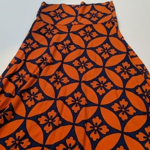 LulaRoe Maxi Skirt XS